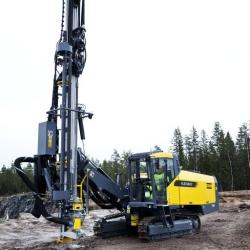 Буровой станок FlexiROC T45 на гусеничном ходу, для бурения скважин  диаметром 89-140 мм (Швеция) в наличии!