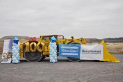 Юбилейная 100-я погрузочно-доставочная машина на Урале